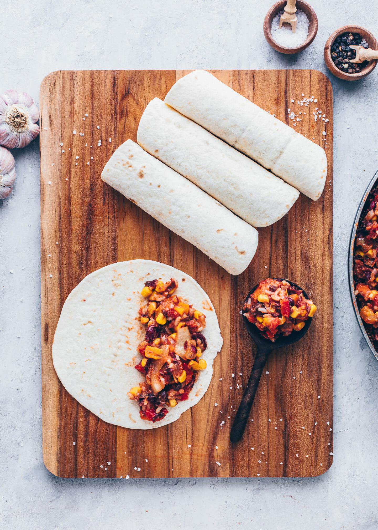 how to make veggie enchiladas