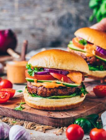 Das beste Vegane Burger Rezept