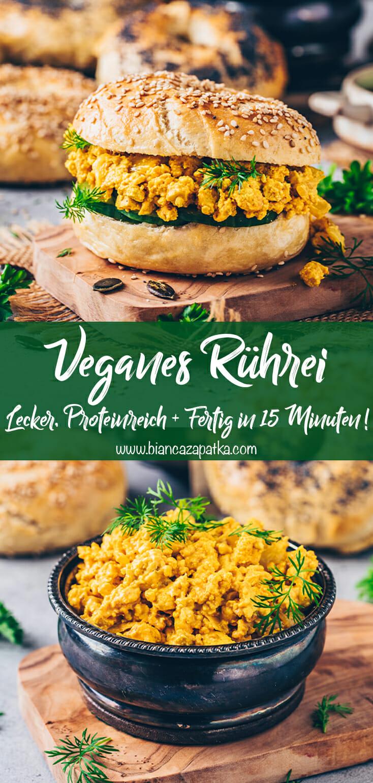 Veganes Rührei (Scrambled Tofu, Rührtofu) Rezept