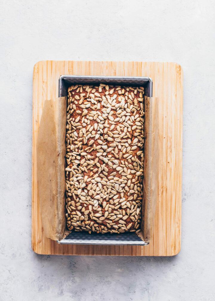 Date Nut Carrot Bread Loaf