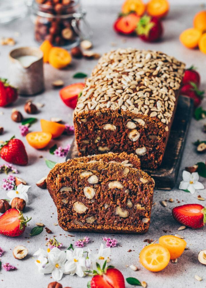 Date walnut bread