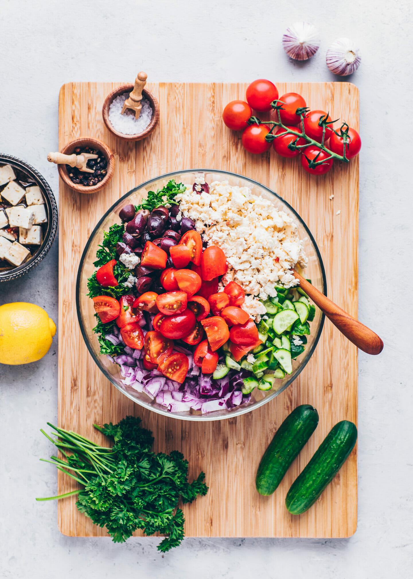 how to make greek orzo pasta salad