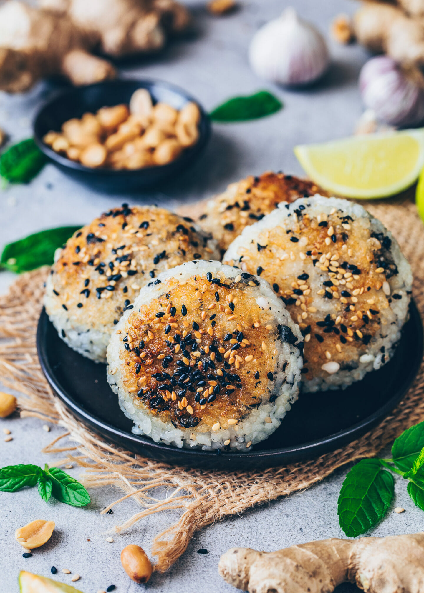 Yaki Onigiri, Japanese Crispy Grilled Rice Balls