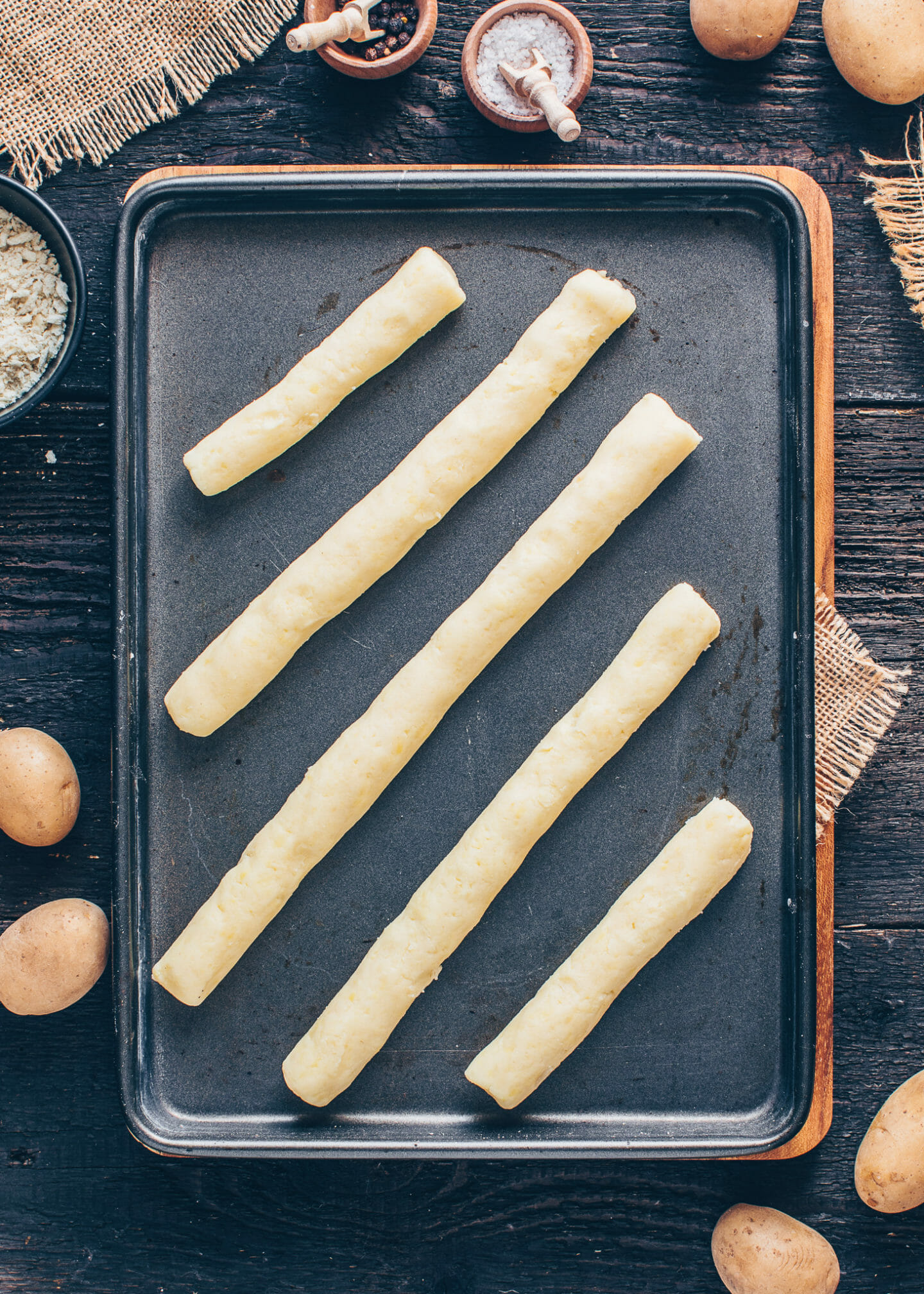 how to make vegan potato croquettes