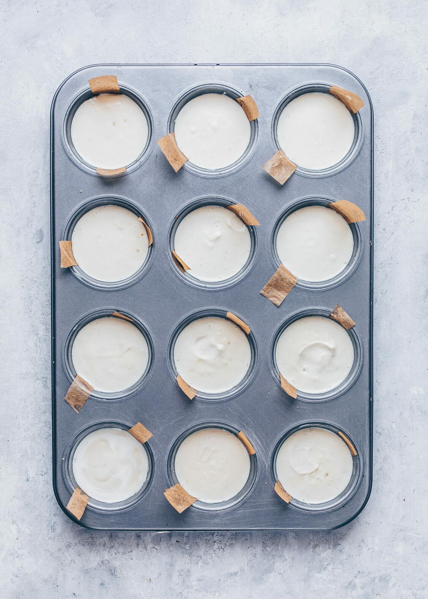 how to make no-bake mini cheesecakes