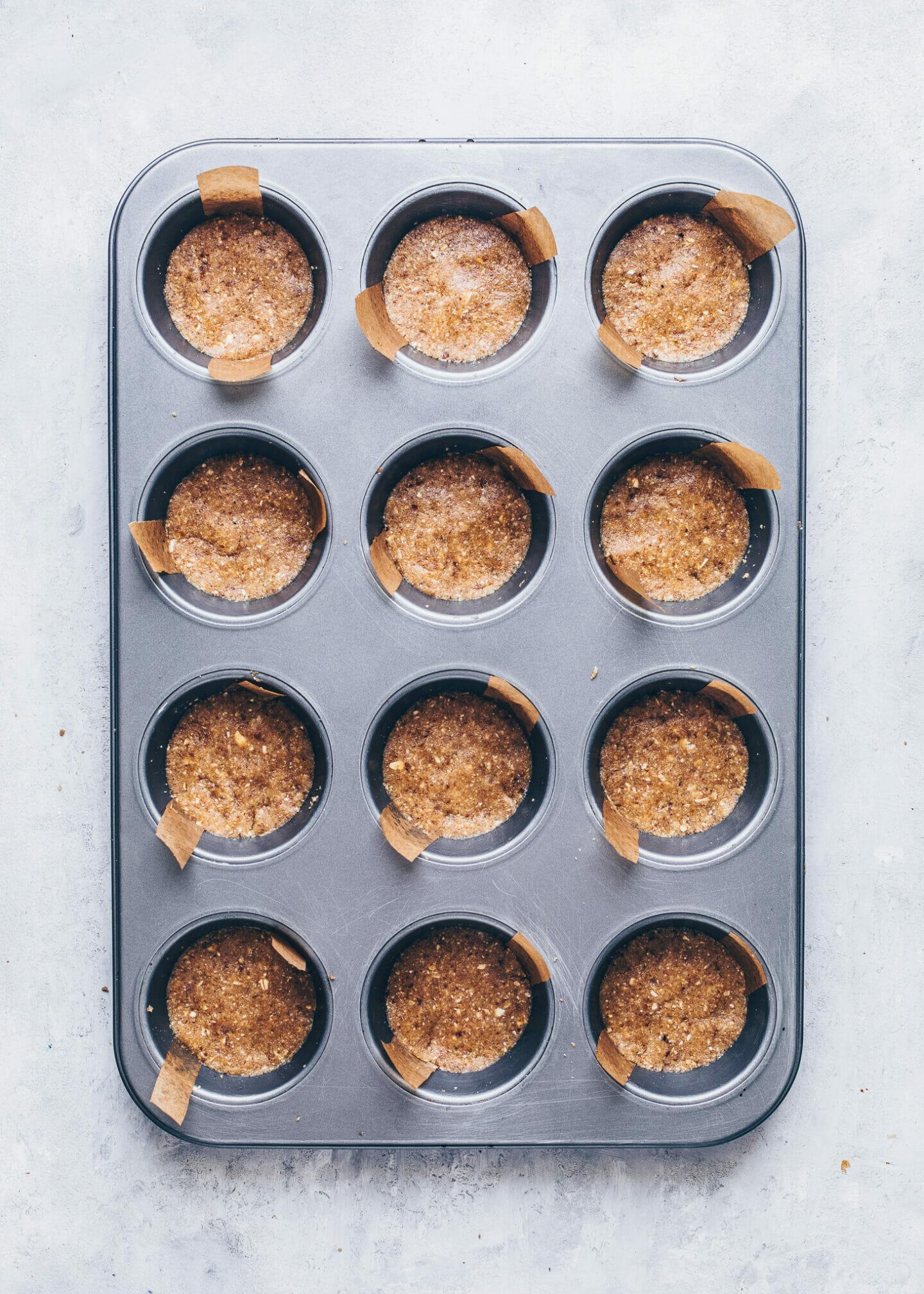 Mini Käsekuchen Cupcakes (Schritt-für-Schritt Anleitung)