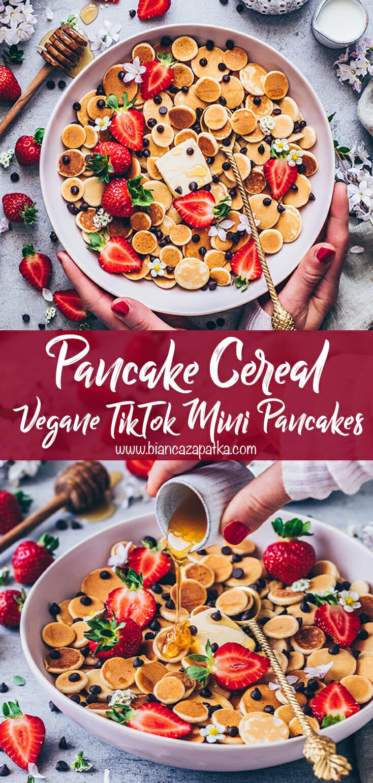 Pancake Cereal (Mini Pancakes, Pfannkuchen)
