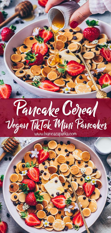 Pancake Cereal Recipe, TikTok Mini Pancakes