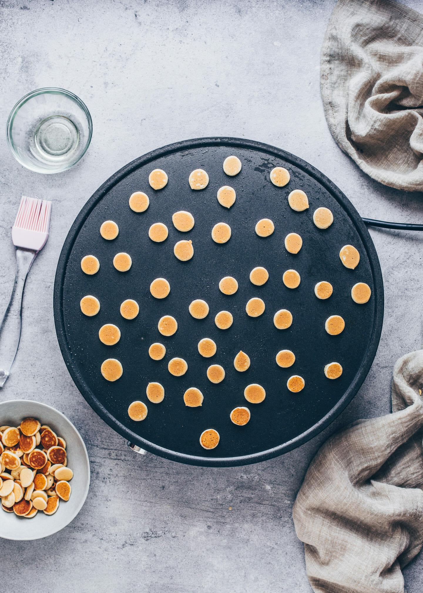 Pancake Cereal (Vegane TikTok Mini Pancakes)