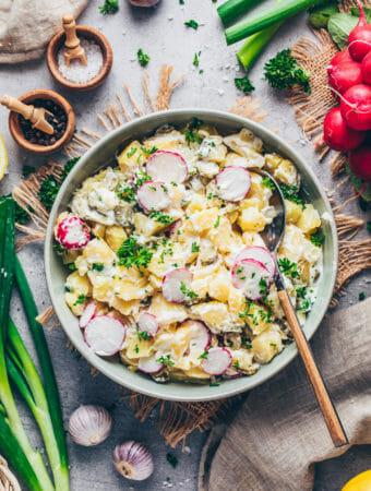 Potato Salad (Creamy, Vegan, Easy)