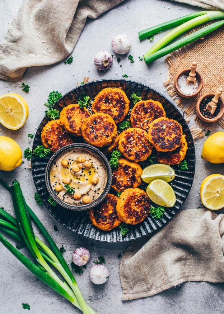 Sweet Potato Falafel (Vegan, Gluten-free)