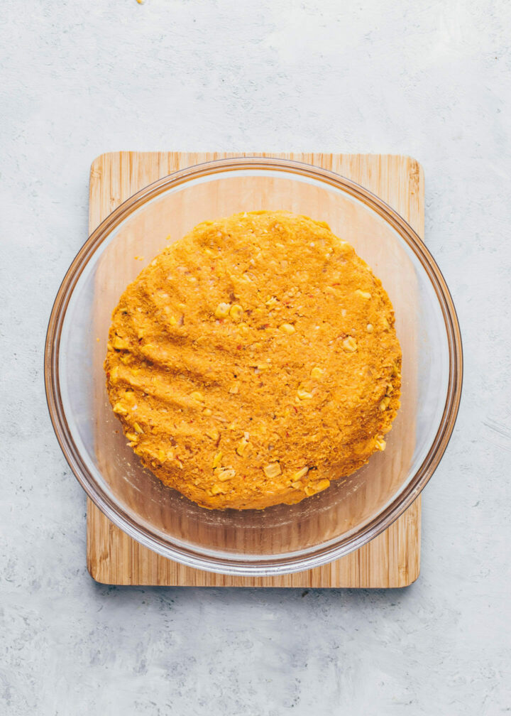 Süßkartoffel-Mais-Falafel