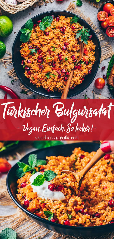 Türkischer Bulgursalat (Kisir)