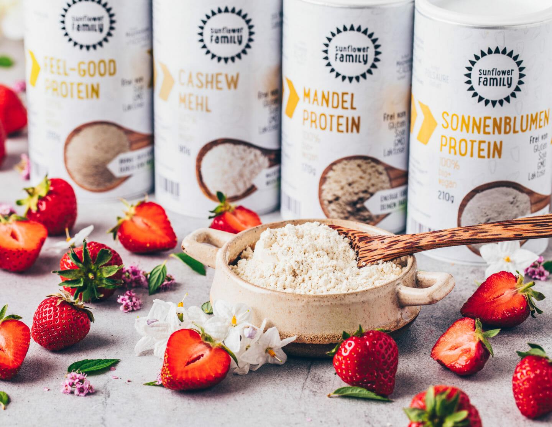 Vegane Proteinpulver, Cashew-Protein