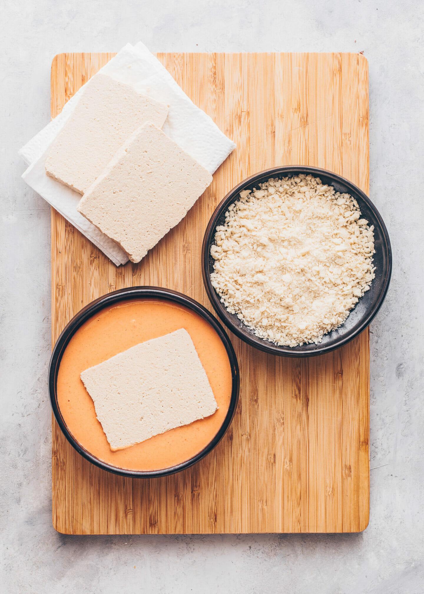 How to make crispy Tofu Katsu Steaks