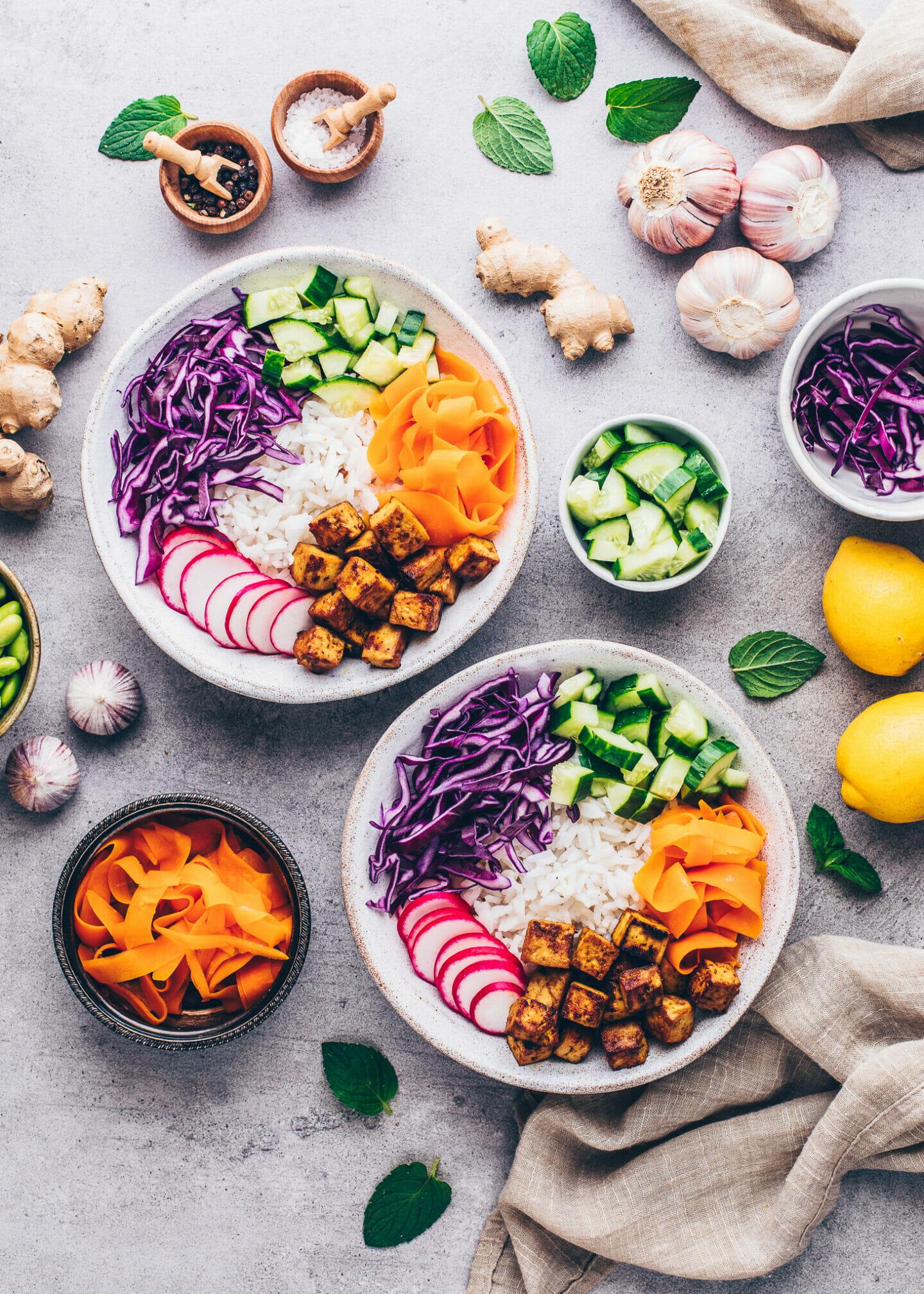 Vegane Poke Bowl selber machen (Rezept mit Anleitung)