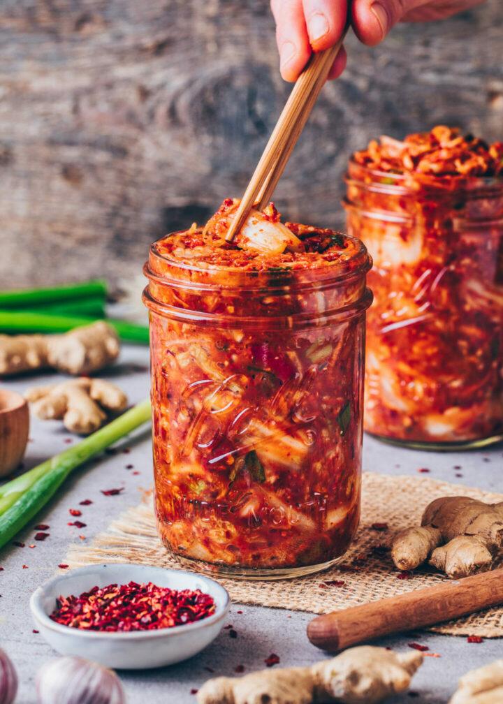 Kimchi selber machen (Einfach, Vegan)