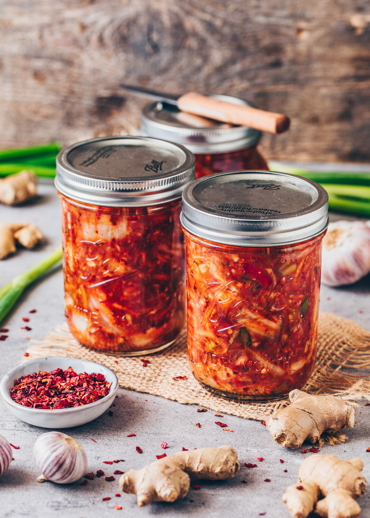 Homemade Kimchi + fermentation step-by-step guide