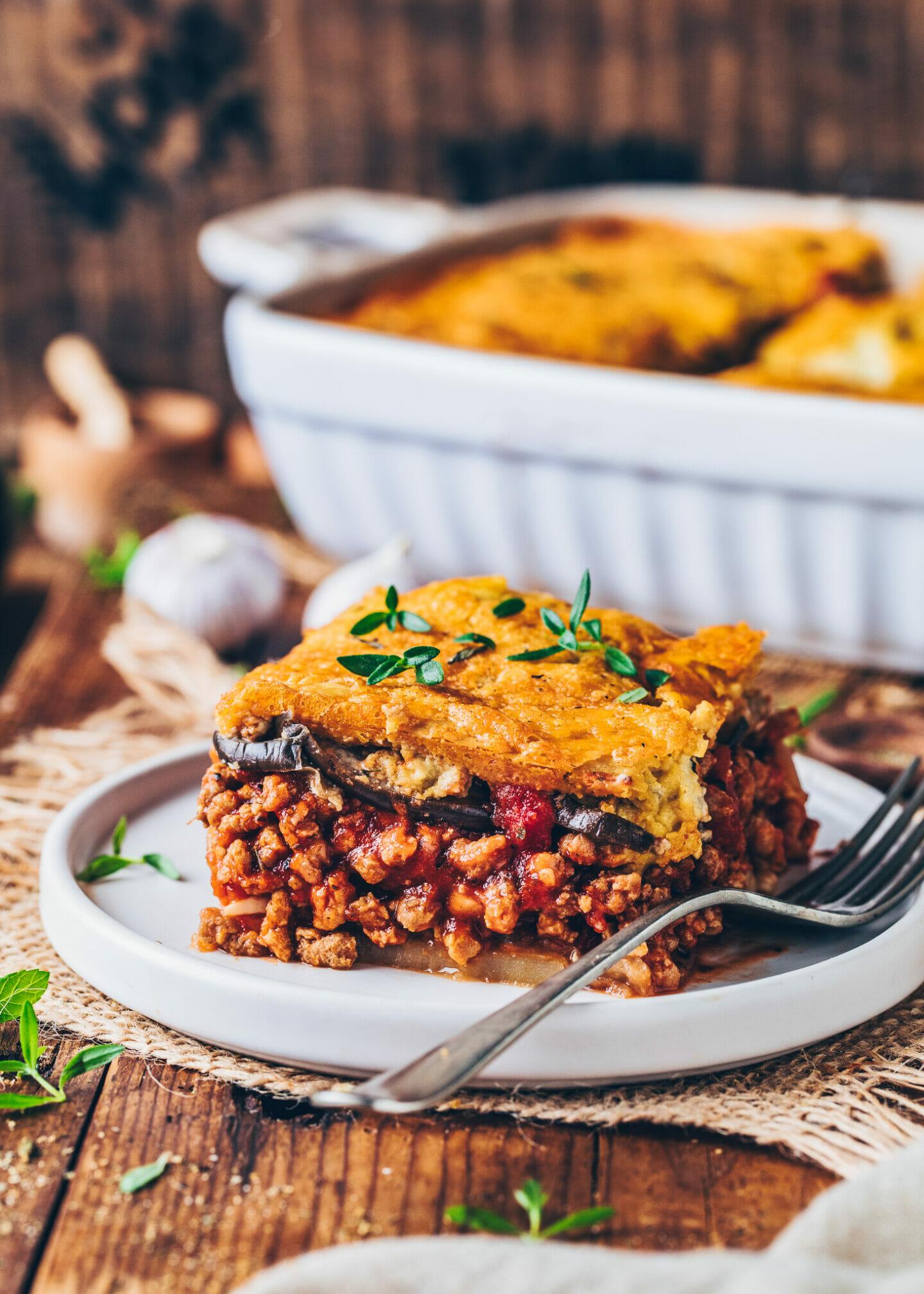 Vegan Moussaka With Cashew Bechamel Bianca Zapatka Rezepte