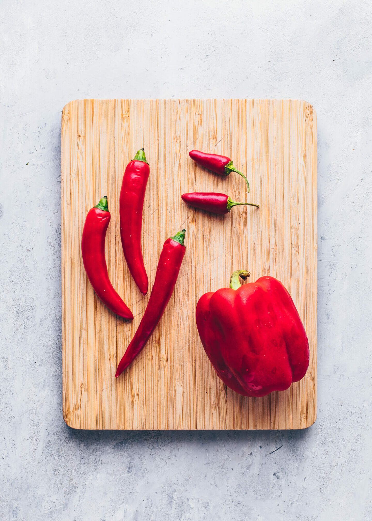 Red Chili Peppers for Thai Sweet Chili Sauce