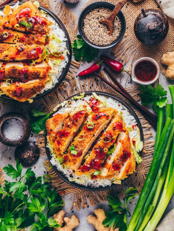 Tofu Katsu (Food Photography)
