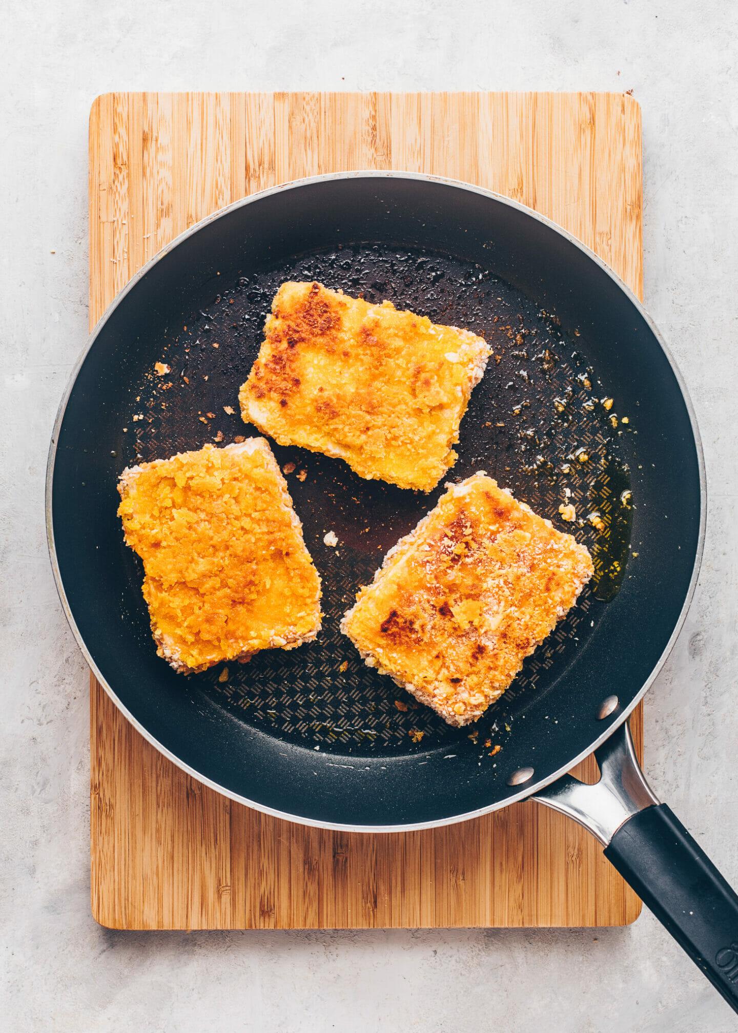 Tofu Katsu (Crispy Vegan Japanese Steaks)