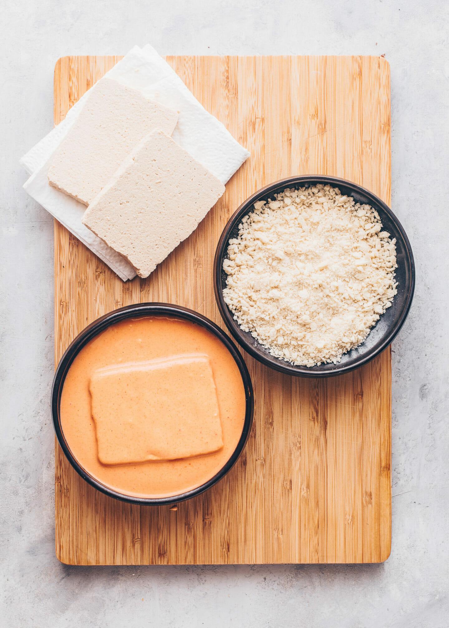 Tofu Katsu step-by-step recipe