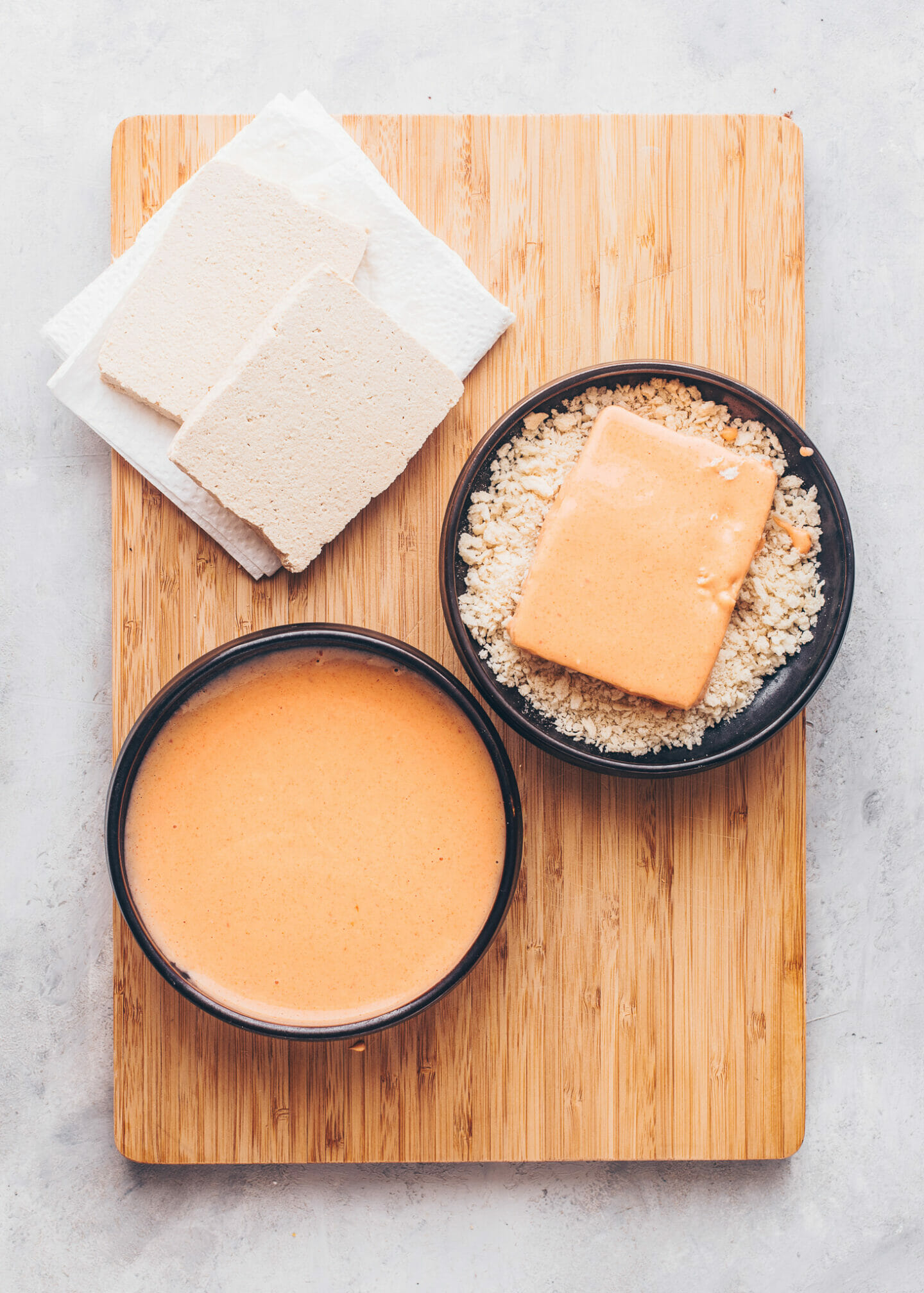 How to make Vegan Tofu Katsu