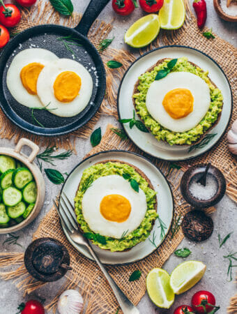 Vegan Fried Eggs Recipe