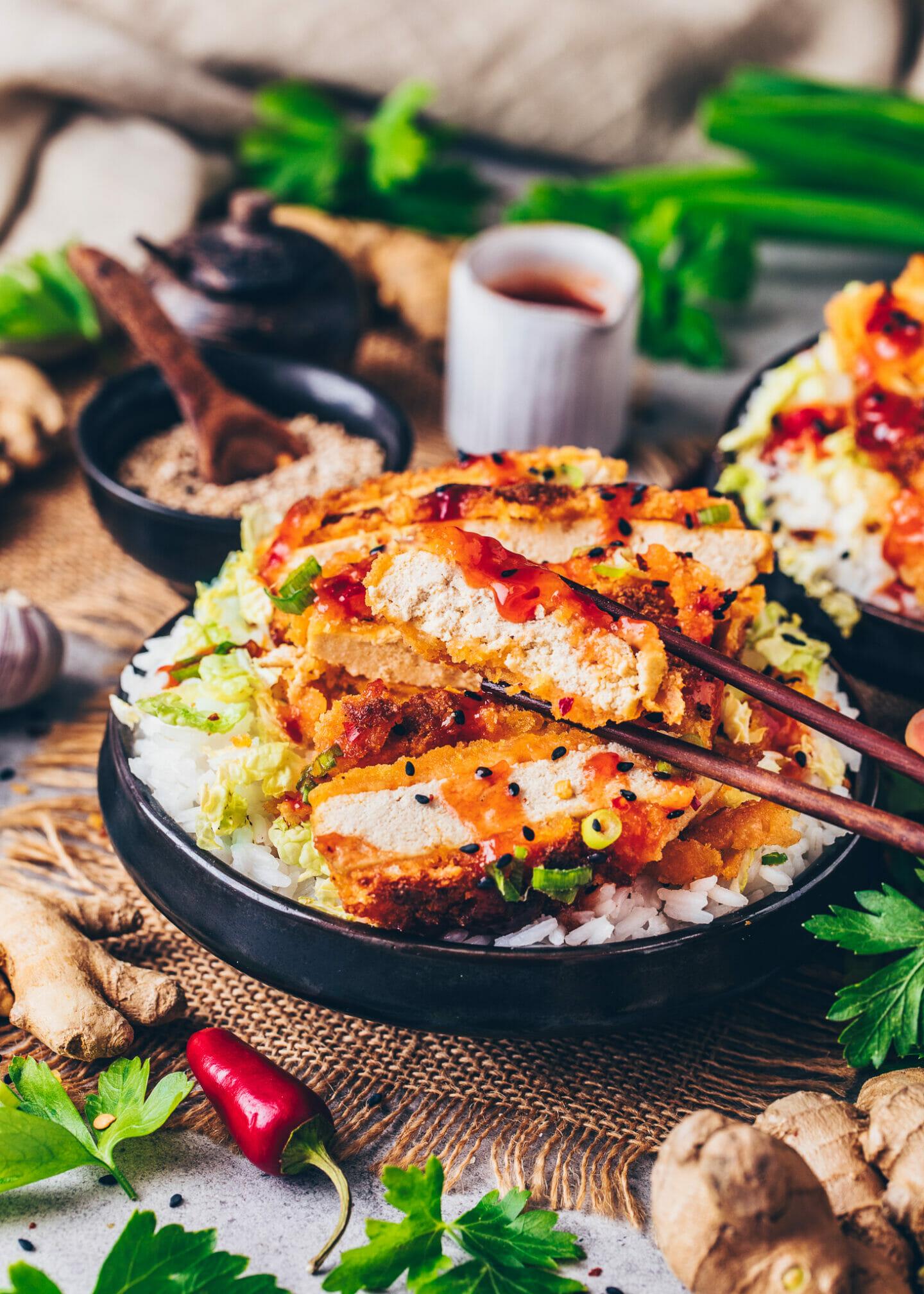 Vegan Tofu Katsu