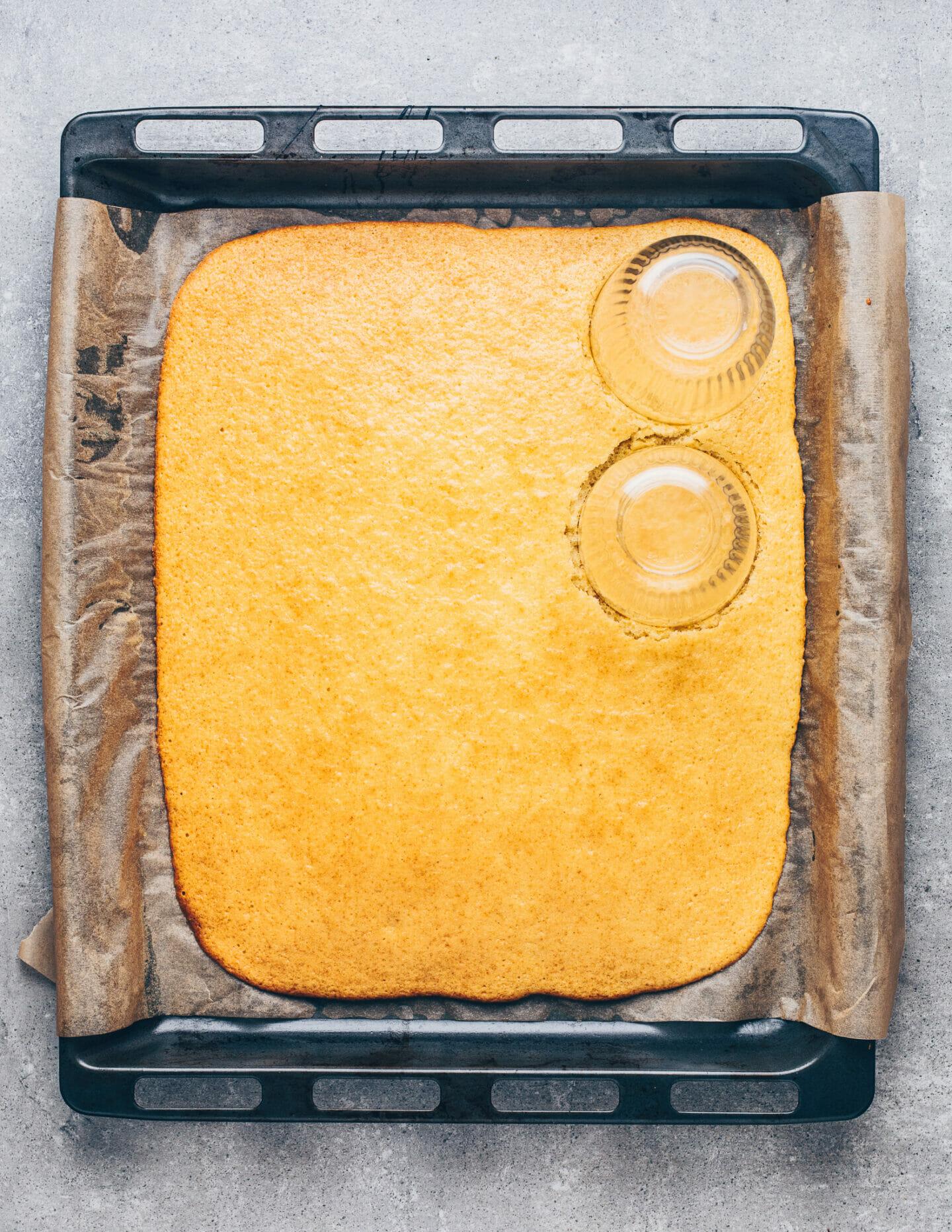 Veganer Biskuit-Kuchen