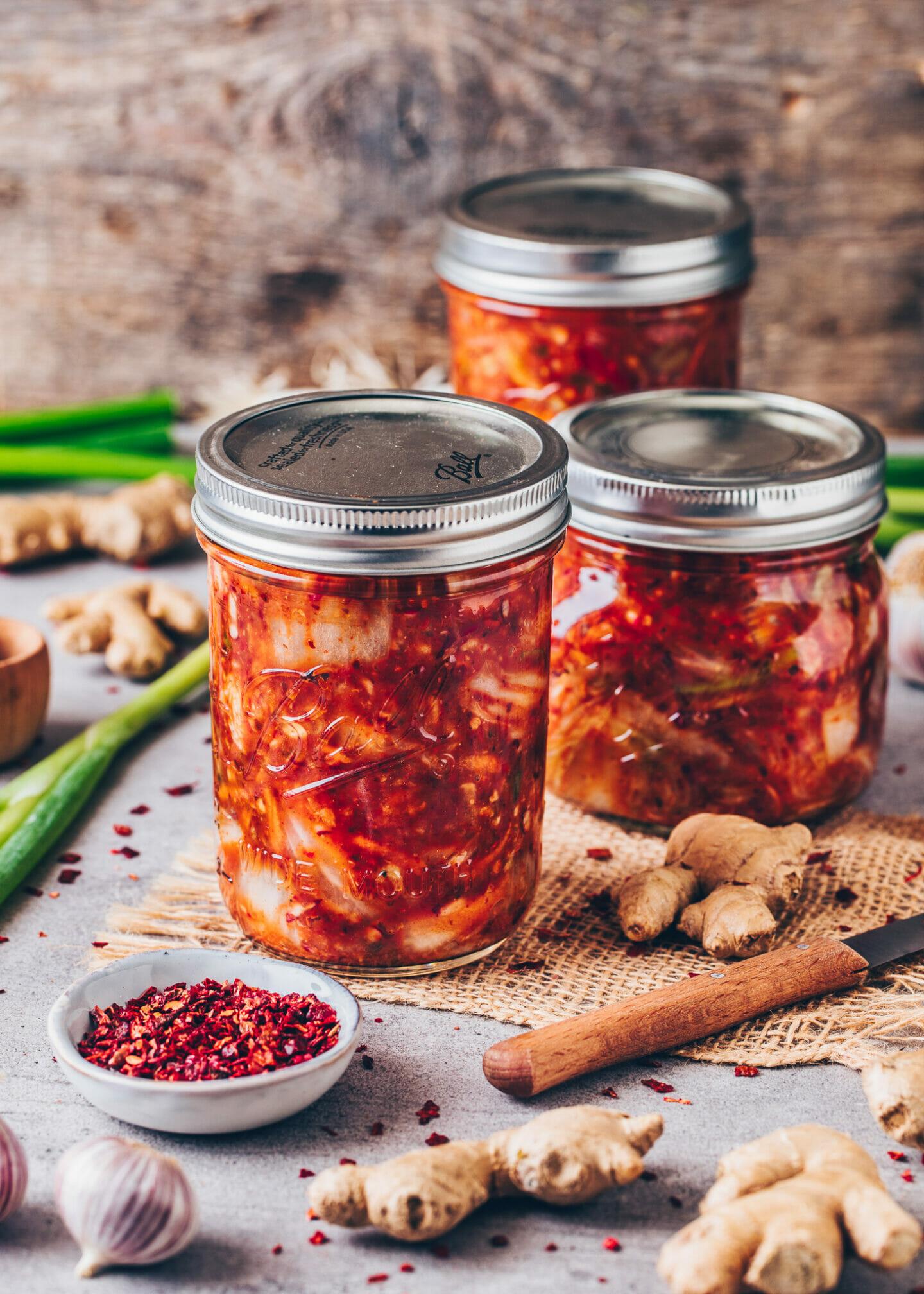 Veganes Kimchi Rezept