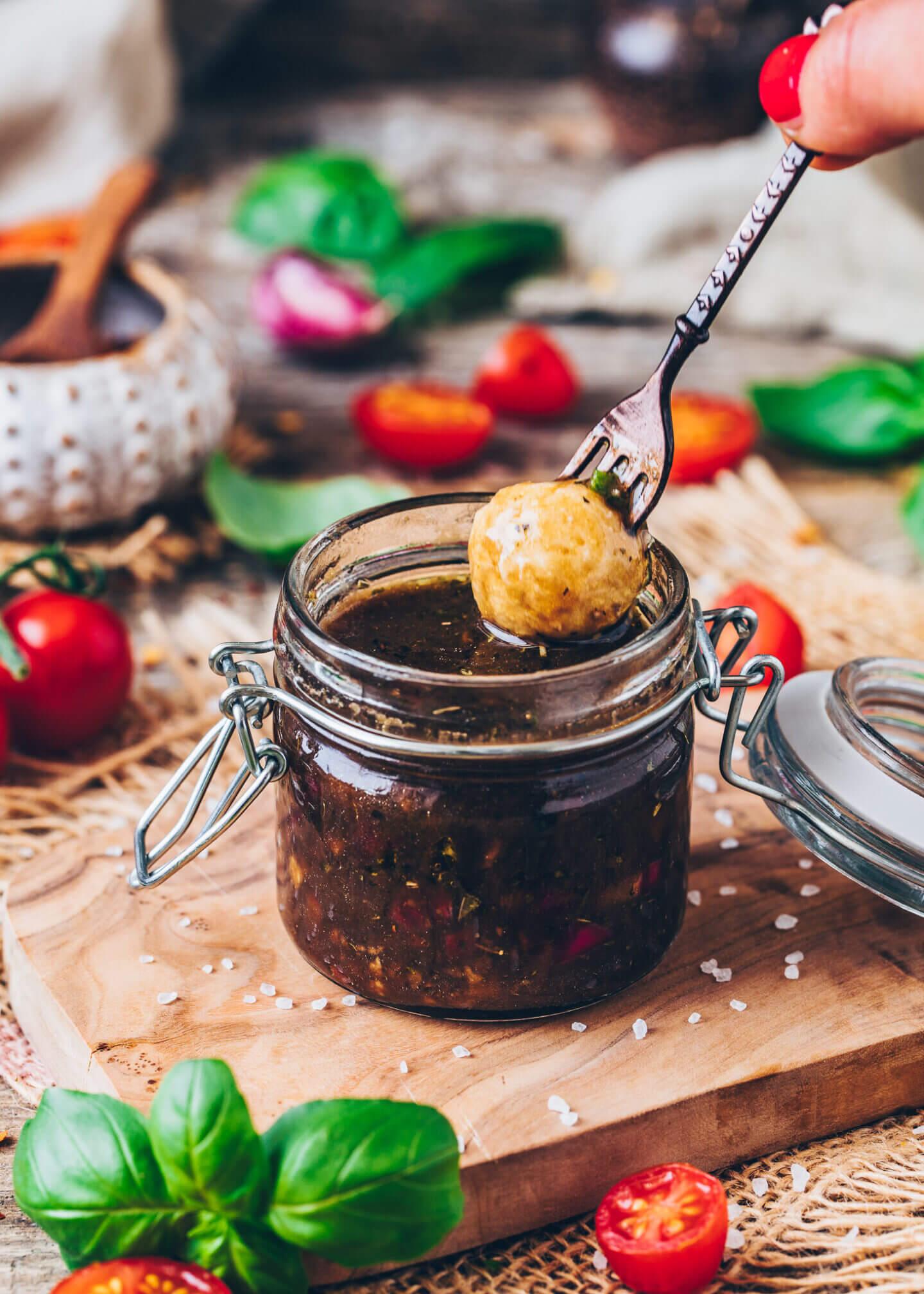 Balsamic Vinaigrette (Homemade Dressing)