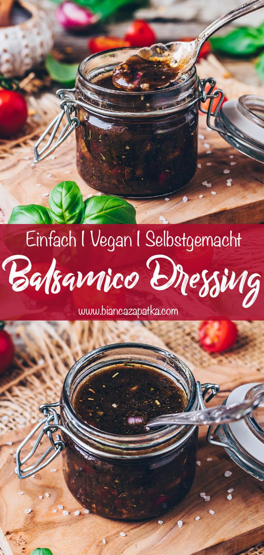 Balsamico Dressing (Salat-Vinaigrette)