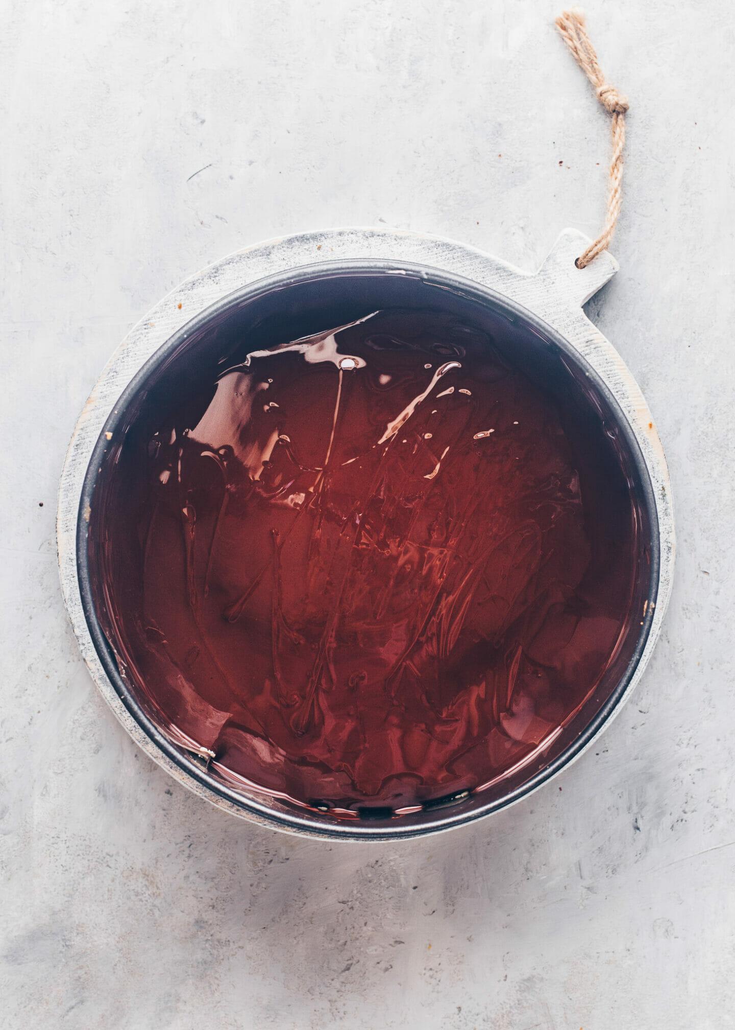 Danube Wave with Chocolate Glaze