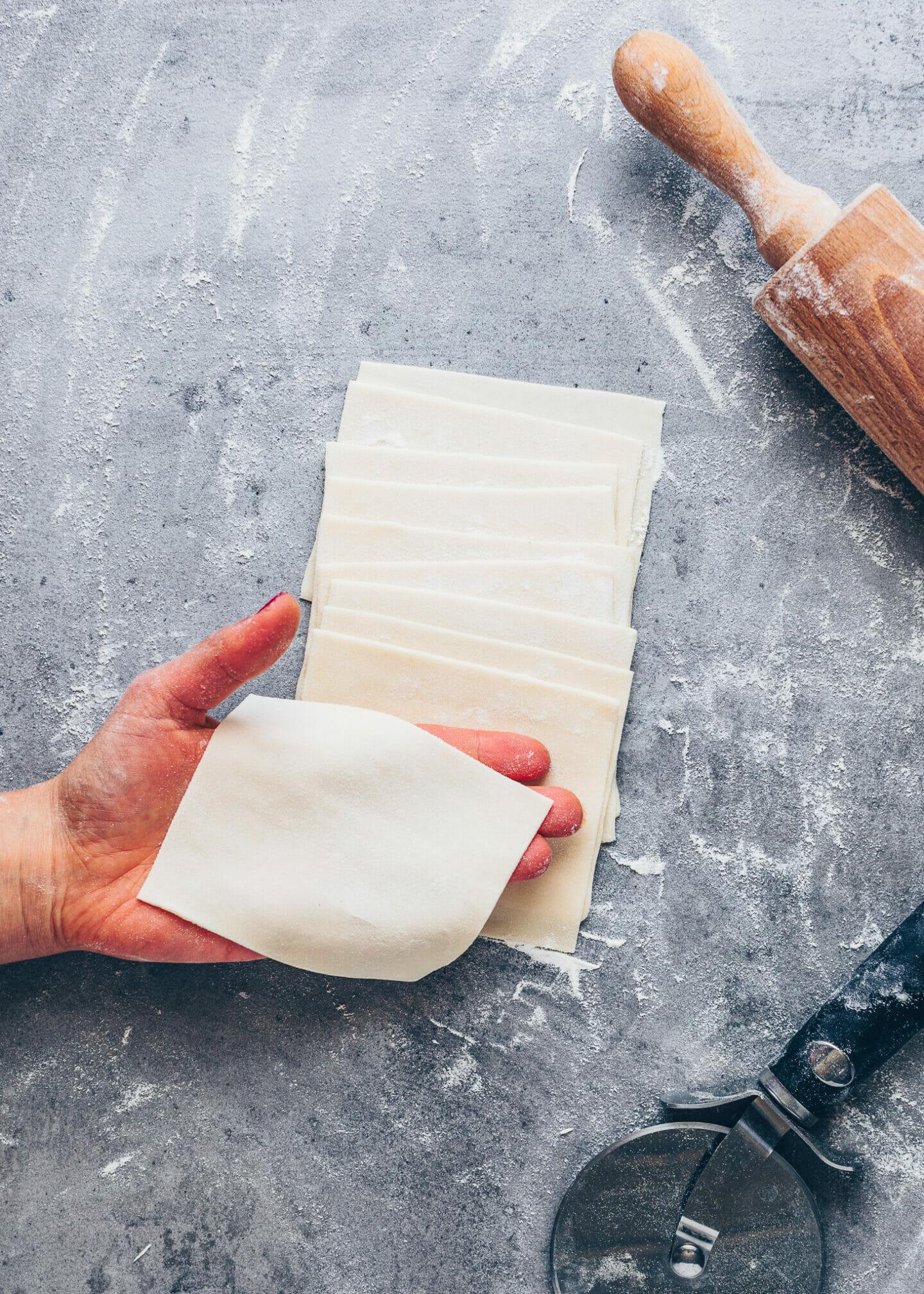 Easy Wonton Wrappers Recipe