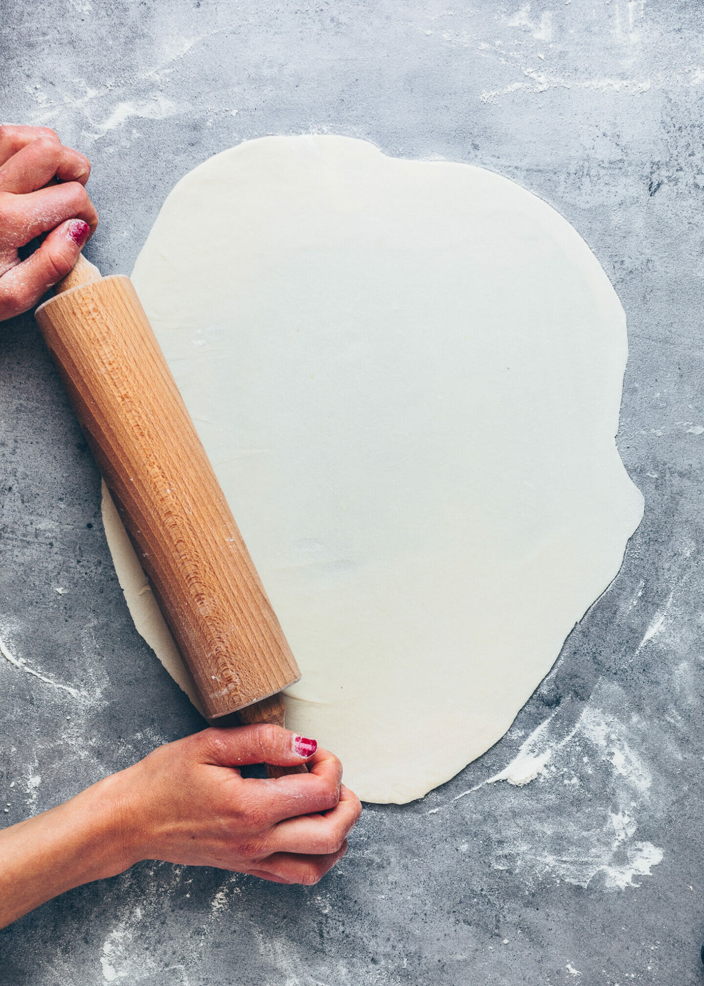 How to make Dumpling Wrappers for Gyoza, Wontons