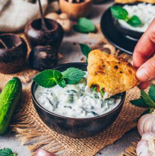 Vegan Raita - Indian Yogurt Sauce