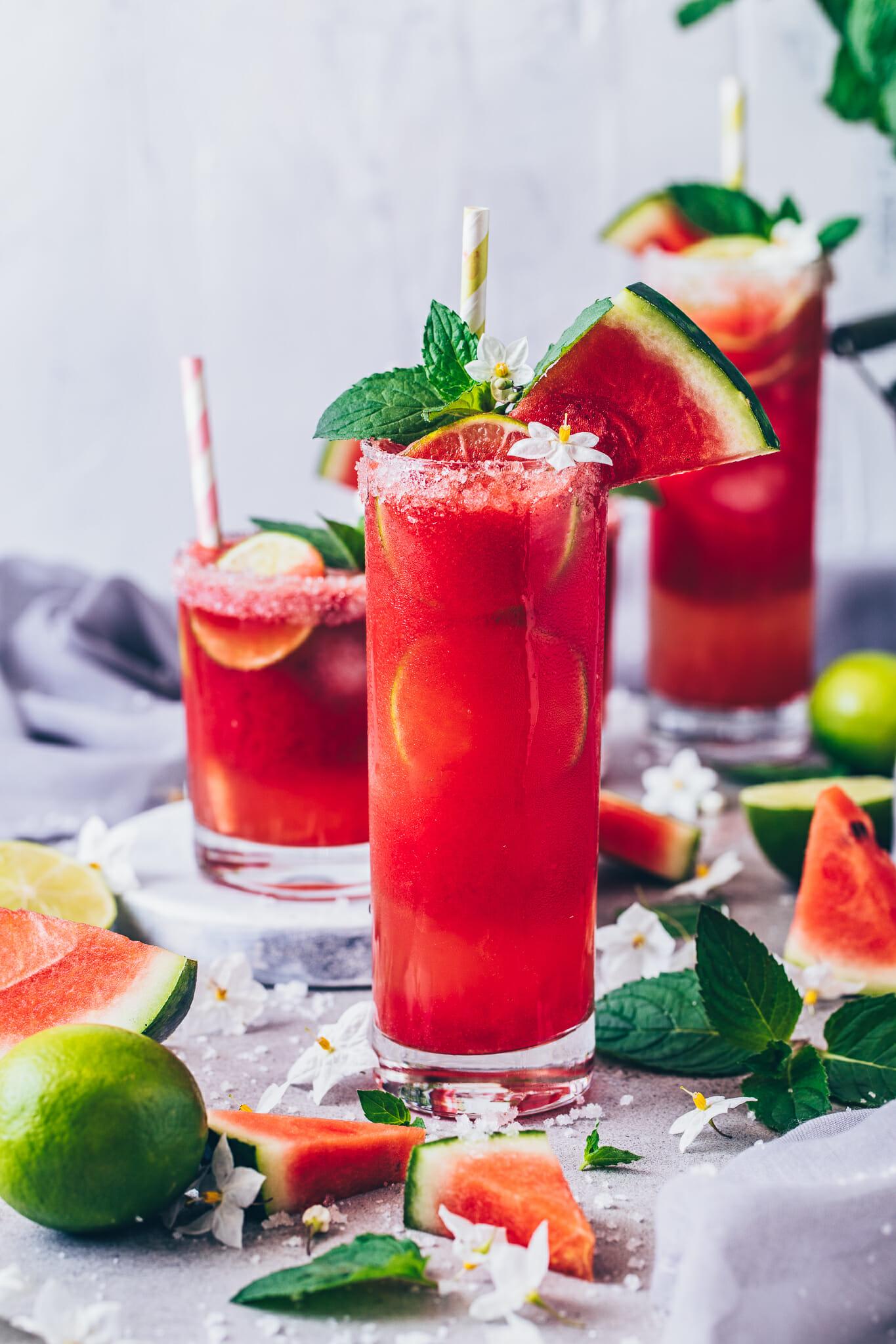 Watermelon Margarita Cocktail