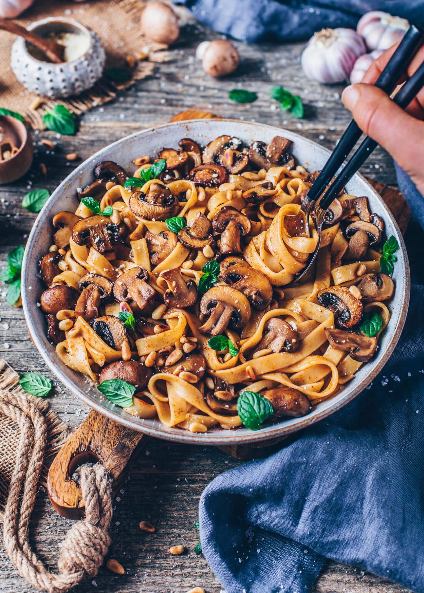 Best Mushroom Pasta
