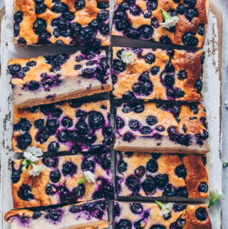 Best Blueberry Cheesecake Bars