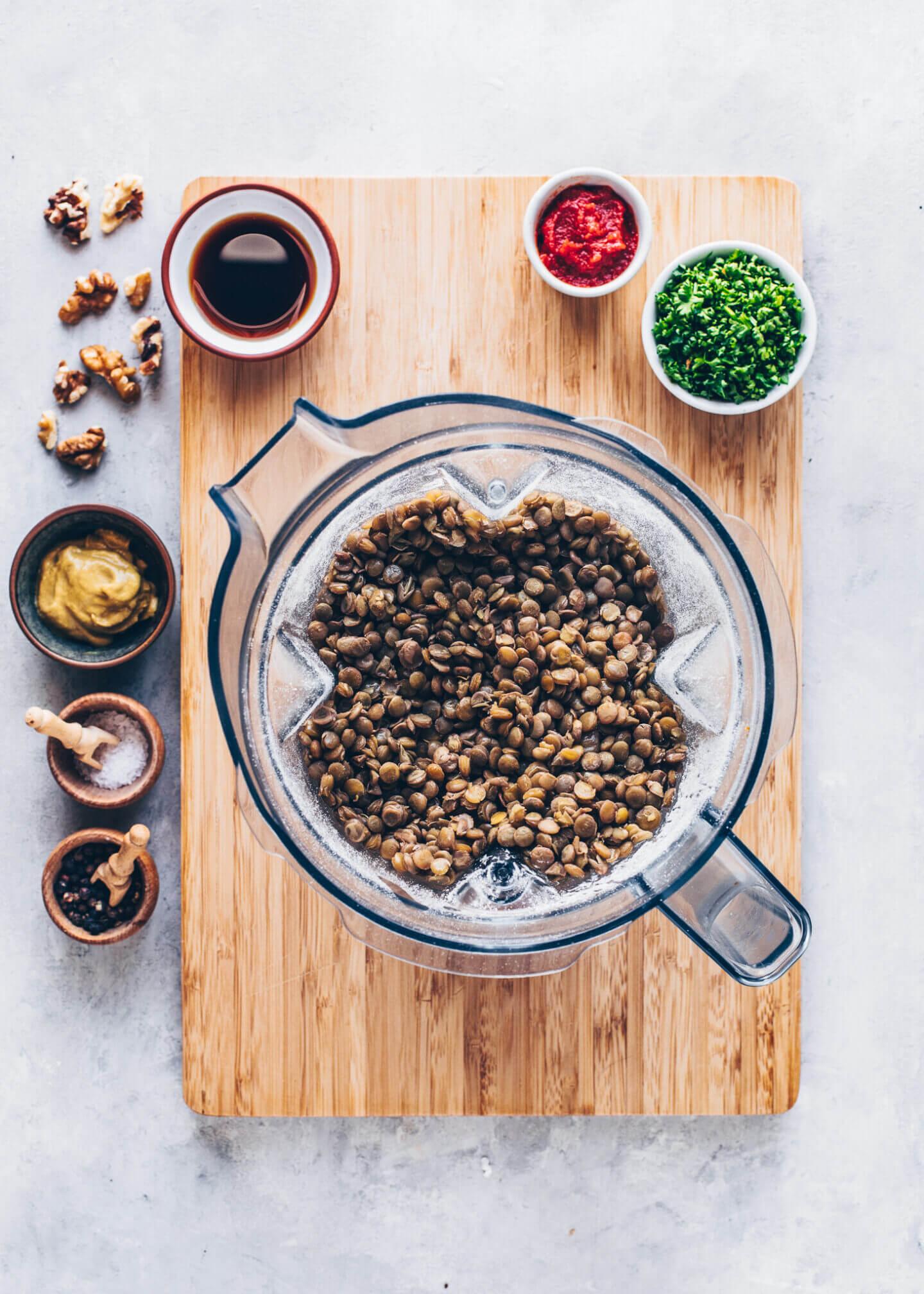 How to make lentil loaf