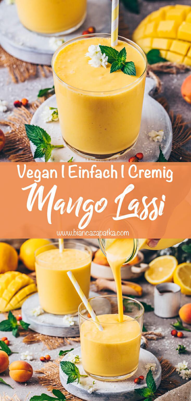 Mango Lassi (Indischer Smoothie)