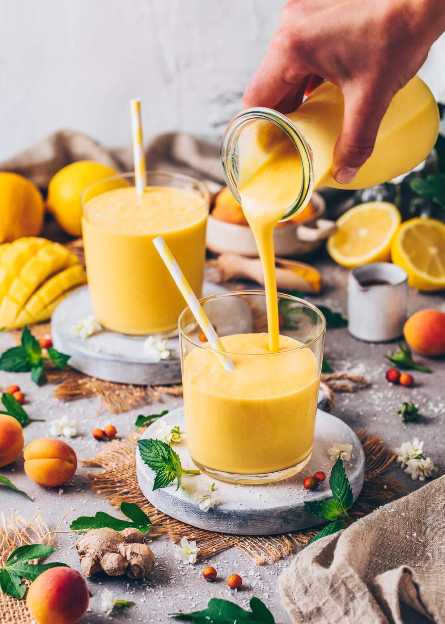 Mango Lassi (food photography)