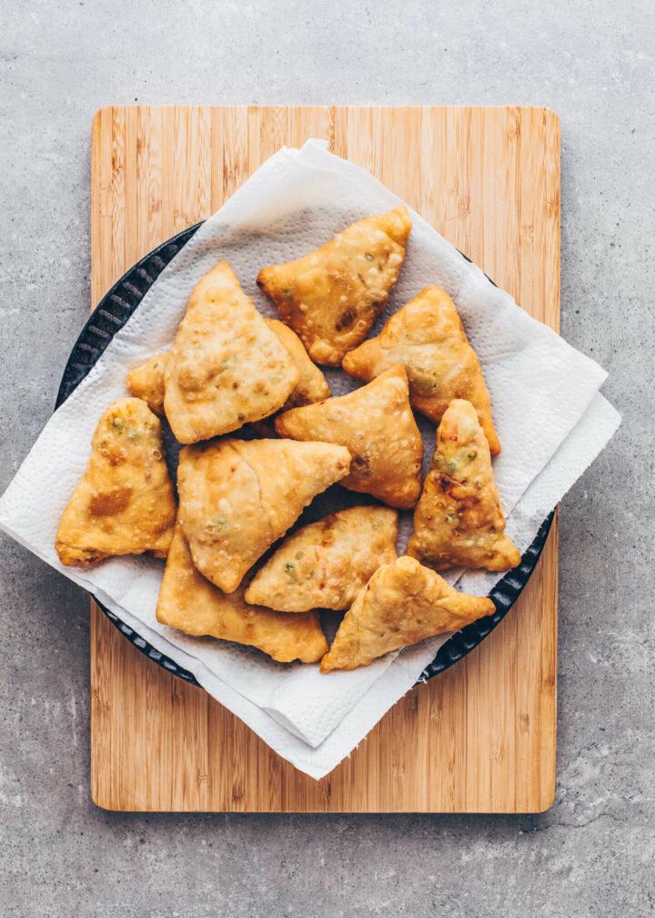 Crispy Homemade Samosas