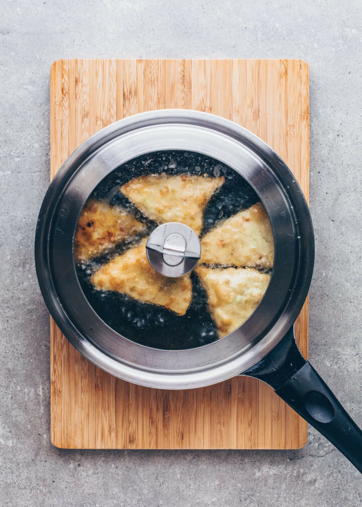 How to cook Samosas