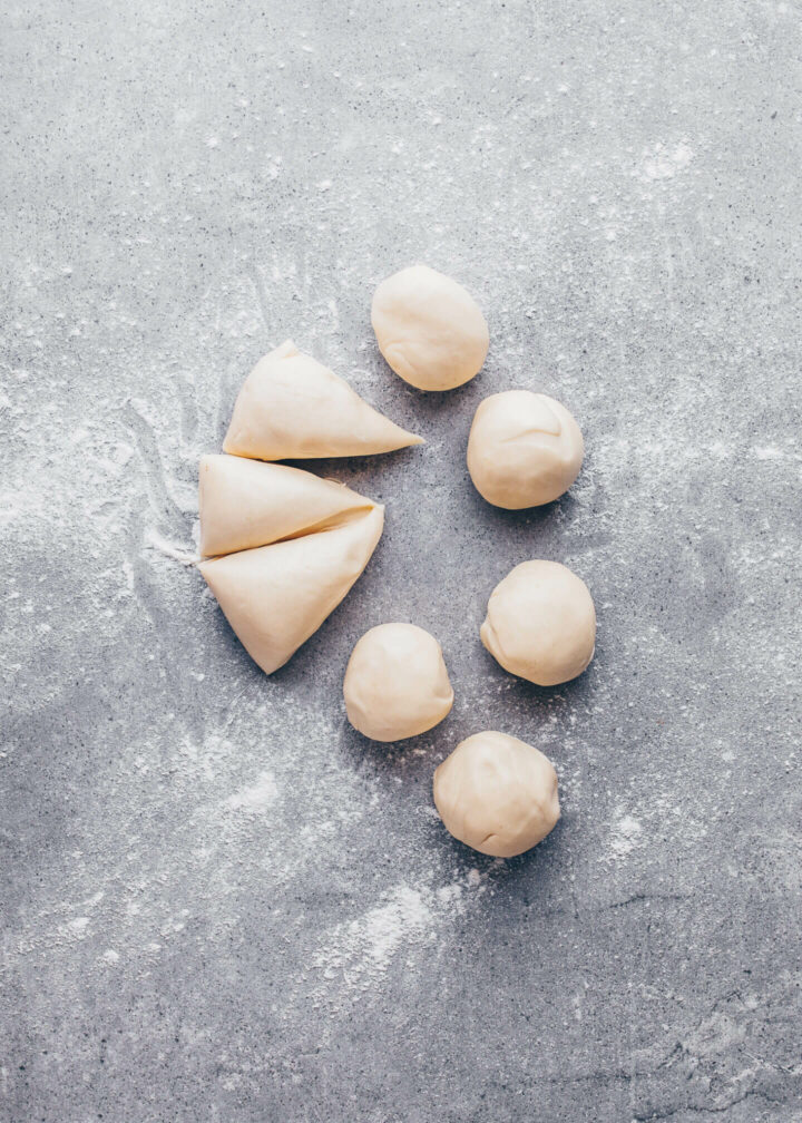 Indian Samosa step-by-step instruction
