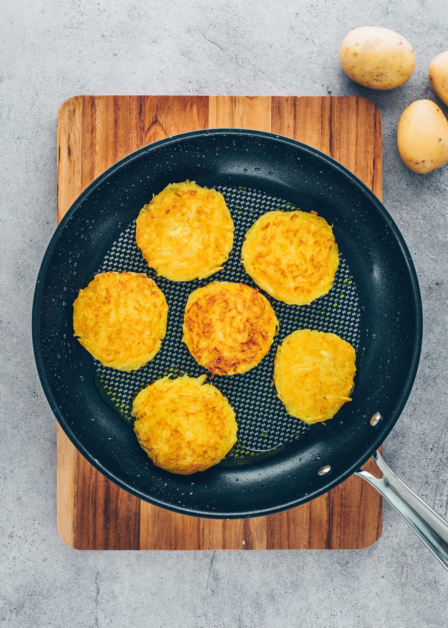 Kartoffelpuffer (Reibekuchen, Rösti)