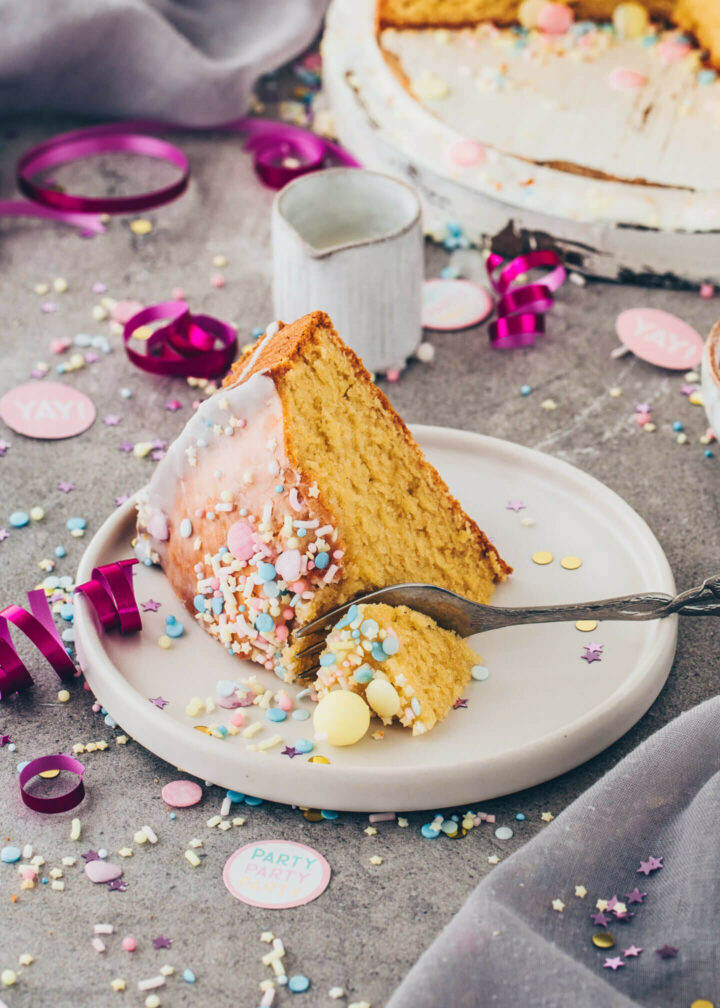 Fantakuchen, Geburtstagskuchen (Vegan)