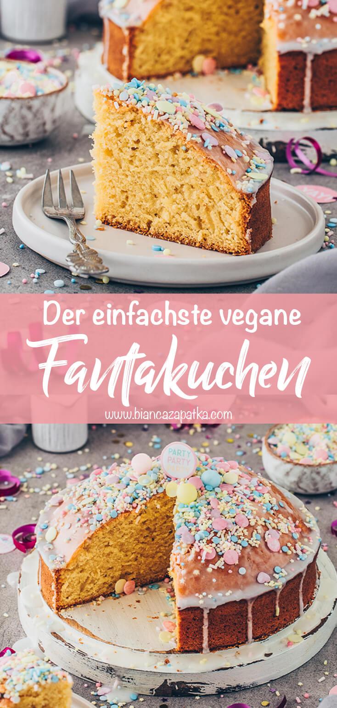 Fantakuchen, Geburtstagskuchen, Party-Kuchen